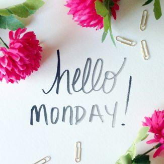 สวัสดีวันจันทร์